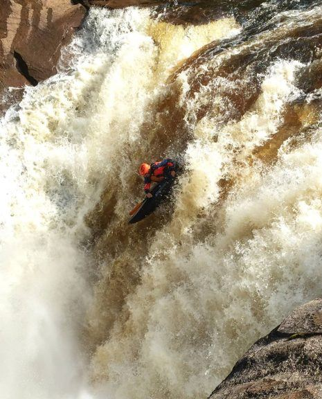 Advanced Whitewater Kayak Trip
