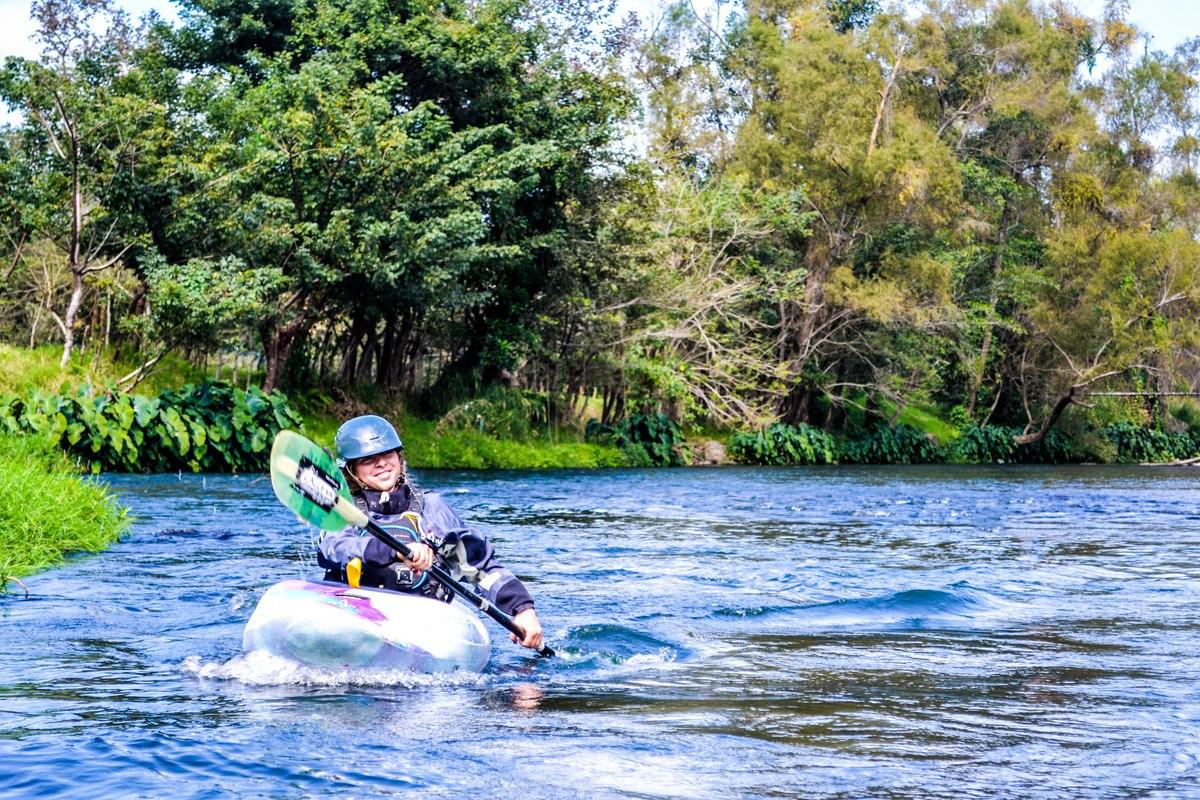 Kayaking Filo Bobos Aventurec learn to kayak in mexico