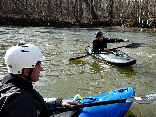 Ashley Nee Kayak Olympics Feeder Canal Potomac River Learn to kayak Washington D.C.