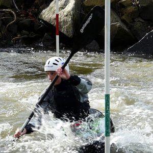 Intermediate slalom Kayak Class